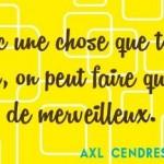 Dysfonctionnelle - Axl Cendres